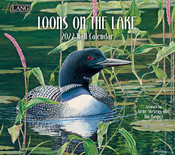 2022 Loon on the Lake calendar