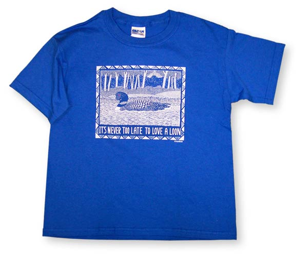 """""""LOVE A LOON"""" YOUTH T-SHIRT"""