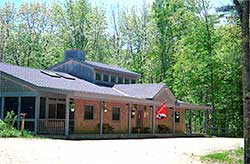 The Loon Center is LPC's headquarters building, store, and visitor center.
