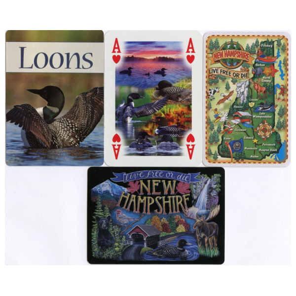 Loon Theme Playing Cards
