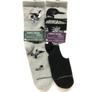 Loon Design Socks by Wheelhouse Designs