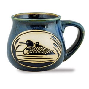 Loon Bean Pot Mug