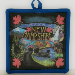 Live Free or Die New Hampshire Potholder
