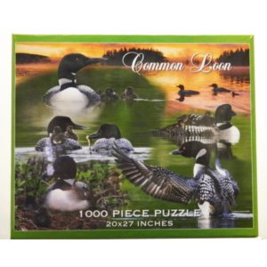Common Loon Collage Puzzle