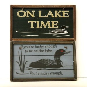 Wooden Decorative Signs
