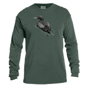 Swimming Loon Long Sleeve t-shirt - Men's