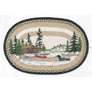 Loon on Lake 20x30 Rug