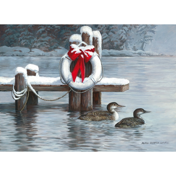 Winter Loons Holiday Cards