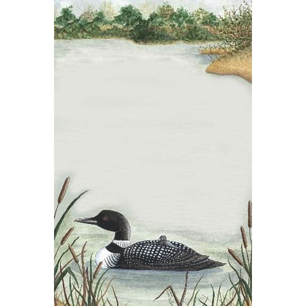 Large Loon Notepad