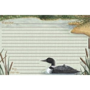 Loon Recipe Cards