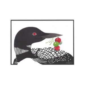 Winter Loon by Wendy Morgan