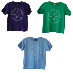 Loon Center Youth t-shirts