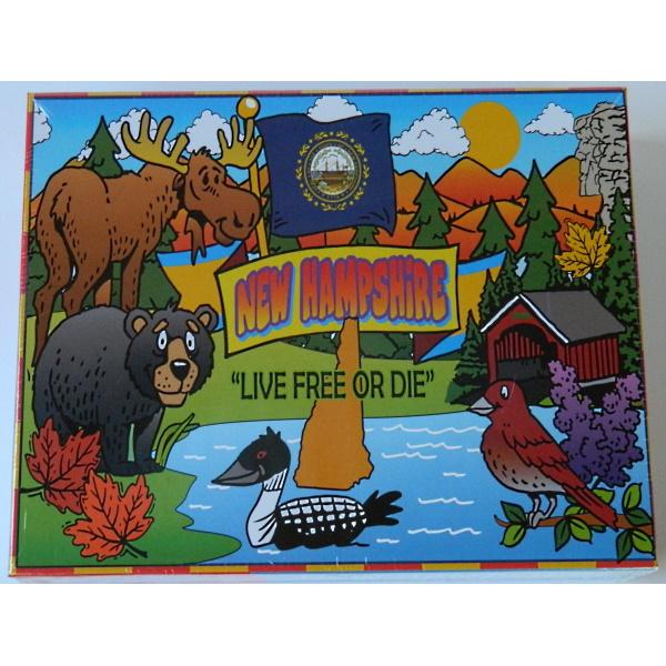 Child's New Hampshire Floor Puzzle