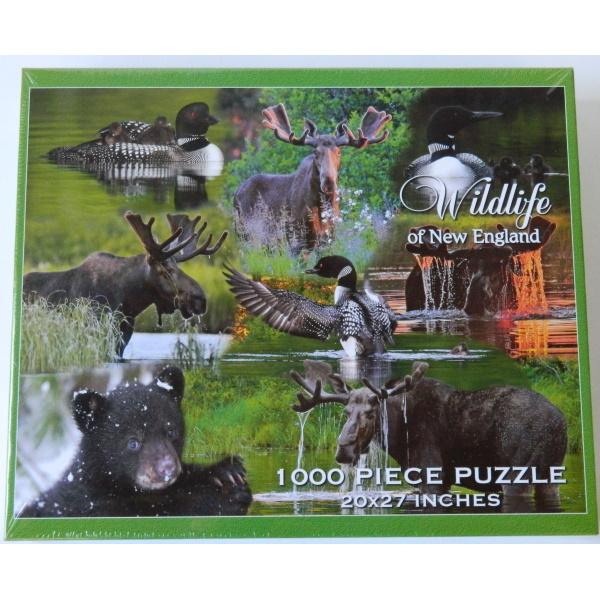 New England Wildlife Puzzle