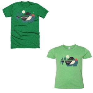 Loon Calls T-shirt