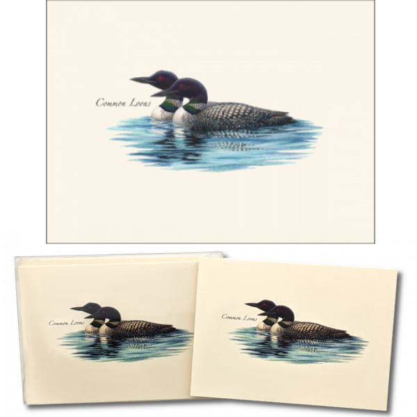 Loon Pair Boxed Note Cards